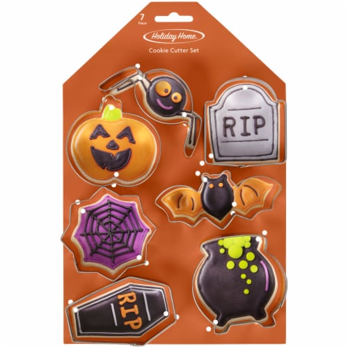Holiday Home™ Halloween Cookie Cutter Set Perspective: front