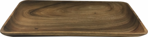 Dash of That Acacia Wood Rectangular Serving Platter Perspective: front