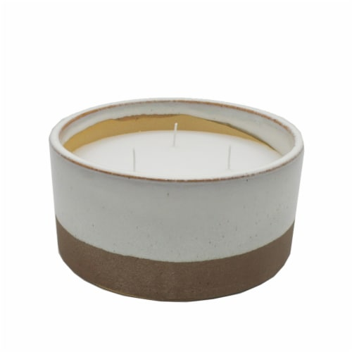 HD Designs Ceramic Filled Candle Perspective: front