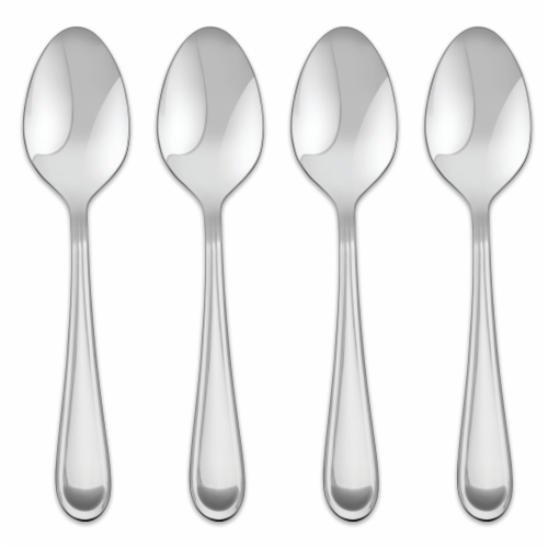 Dash of That Claire Mirror Stainless Steel Spoons - Silver Perspective: front
