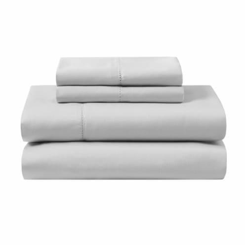 Modavari Home Fashions Organic Sheet Set - Gray Perspective: front