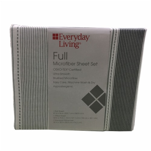 Everyday Living Microfiber Sheet Set Perspective: front