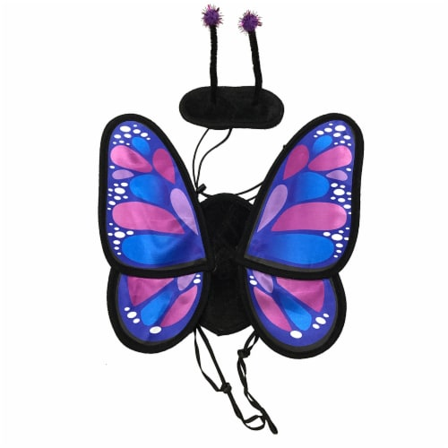 Holiday Home® Medium Butterfly Pet Costume Perspective: front