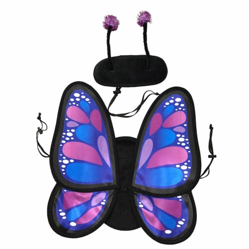 Holiday Home® Large Butterfly Pet Costume Perspective: front