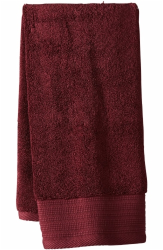 Modavari Home Fashions Pima Hand Towel - Fig Perspective: front