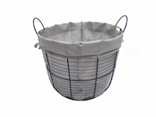 HD Designs Outdoors Medium Wire Storage Basket Perspective: front