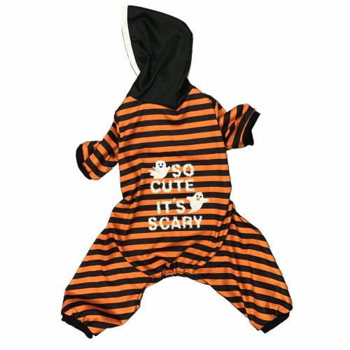 Holiday Home So Cute It's Scary Medium Pet Costume Perspective: front