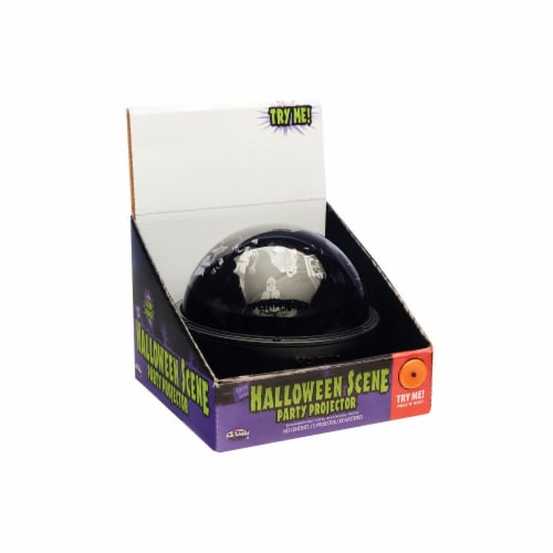 Holiday Home® Halloween Scene Party Projector Perspective: front