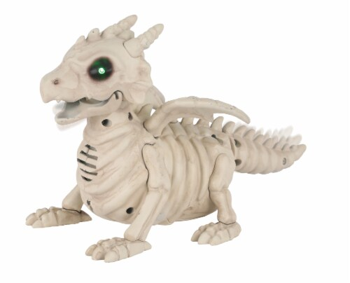 Holiday Home Mini Dragon Skeleton Perspective: front