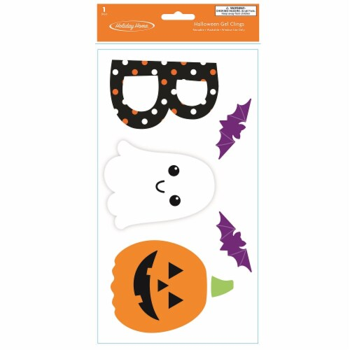 Holiday Home® Boo Gel Cling Perspective: front