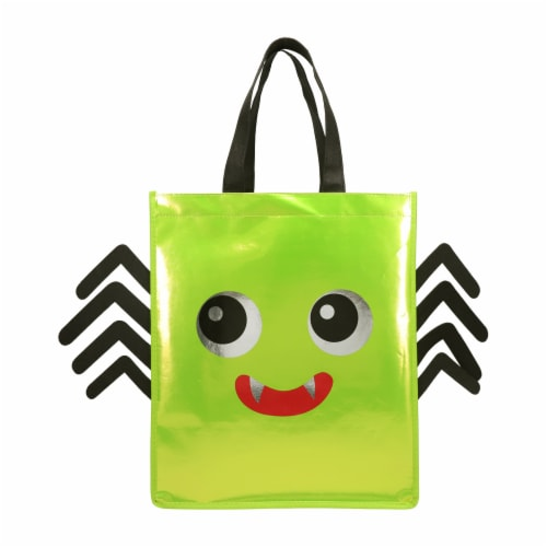 Holiday Home Relective Spider Treat Bag Perspective: front