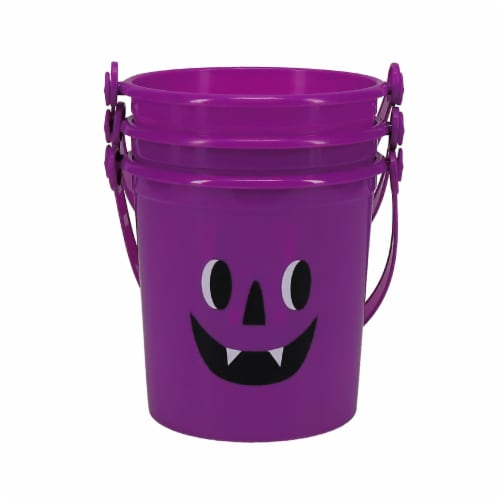 Holiday Home® Monster Mini Treat Buckets Perspective: front