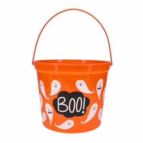Holiday Home Boo Jumbo Treat Bucket Perspective: front