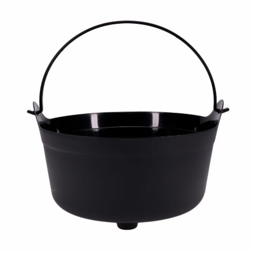 Holiday Home Halloween Cauldron - Black Perspective: front