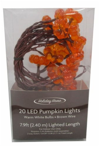 Holiday Home® LED Harvest Pumpkin Perspective: front