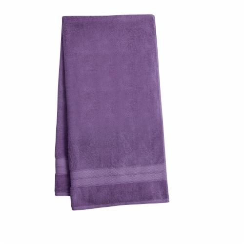 HD Designs Turkish Bath Towel - Montana Grape Perspective: front