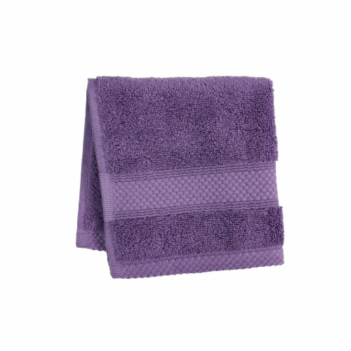 HD Designs Turkish Washcloth - Montana Grape Perspective: front