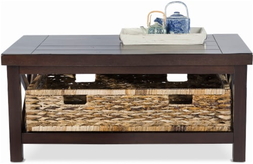 Fred Meyer HD Designs Tabor Collection Coffee Table Java Brown