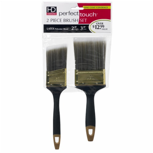 HD Designs® Perfect Touch™ Paint Brush Set Perspective: front