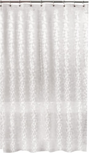 Everyday Living Balloon Embossed PEVA Shower Curtain - Clear Perspective: front