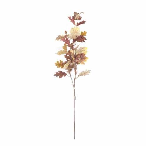 HD Designs Oak Leaves and Acorn Decorative Stem Perspective: front