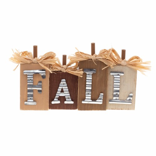 Holiday Home Galvanized & Wood Mini Sign - Assorted Perspective: front