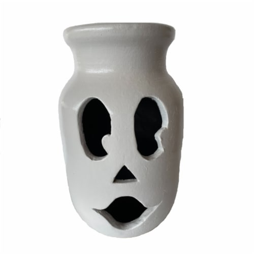 Holiday Home® Large Ghost Jar Decoration Perspective: front