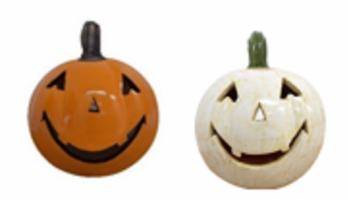 Holiday Home Jack Pumpkin Luminary - Assorted Perspective: front