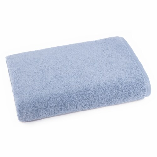Dip Solid Bath Towel - Kentucky Blue Perspective: front