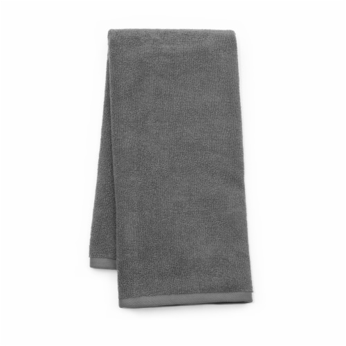 Dip Solid Hand Towel - Quiet Shade Perspective: front