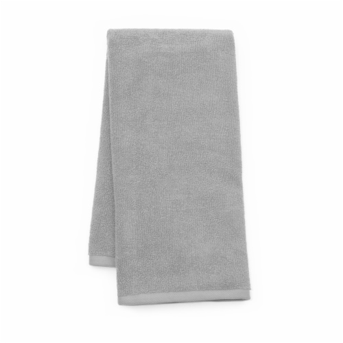Dip Solid Hand Towel - Pearl Blue Perspective: front