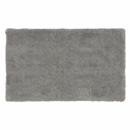 Dip Composition Bath Rug - Chateau Gray Perspective: front