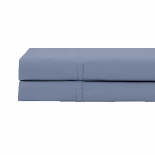 HD Designs 420 Thread Count Solid 100% Cotton Pillowcase - Stonewash Perspective: front