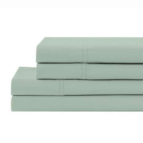 HD Designs Sheet Set - Frosty Green Perspective: front