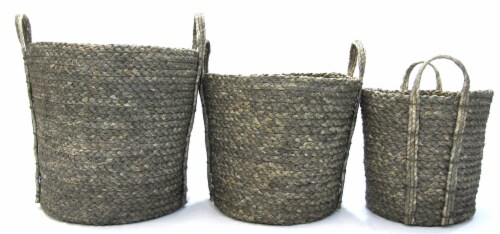 HD Designs Medium Dyed Maize Basket Perspective: front