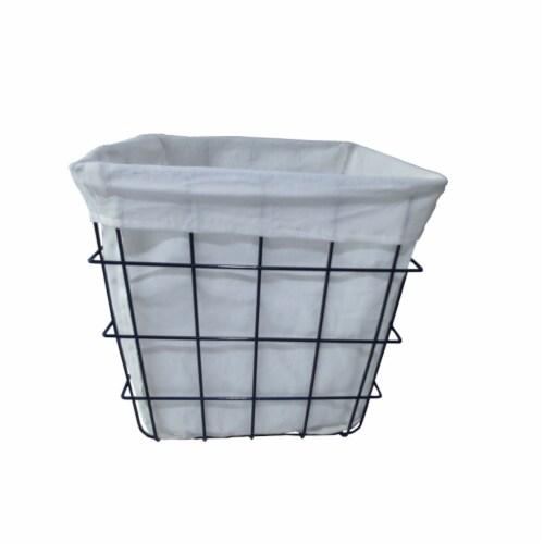 HD Designs Metal Basket Perspective: front