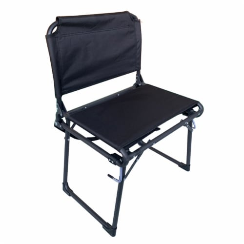 Kroger Anywhere Chair Stadium Seat - Black Perspective: front