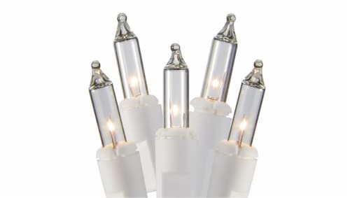 Holiday Home® Incandescent Mini String Lights - Clear Perspective: front