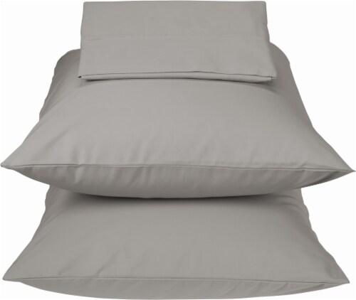 HD Designs® 300 Thread Count Cotton Sheet Set - 3 Piece - Cloud Burst Perspective: front