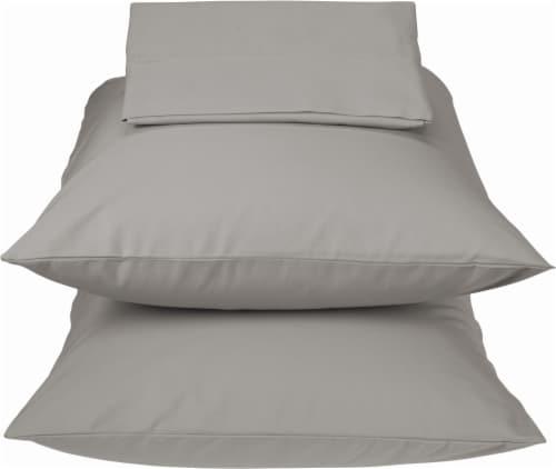 HD Designs 300 Thread Count Percale Cotton Sheet Set - Cloud Burst Perspective: front