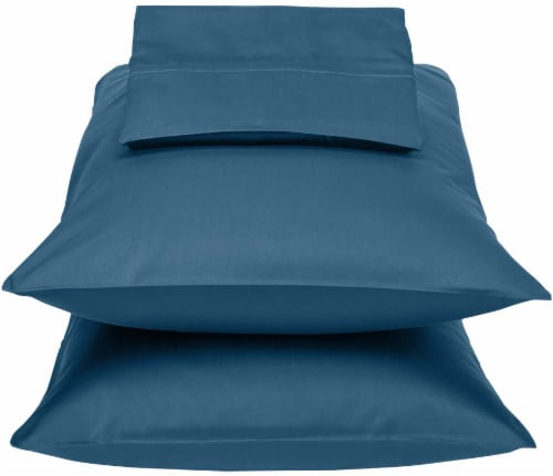 HD Designs 300 Thread Count Sheet Set - Ensign Blue Perspective: front