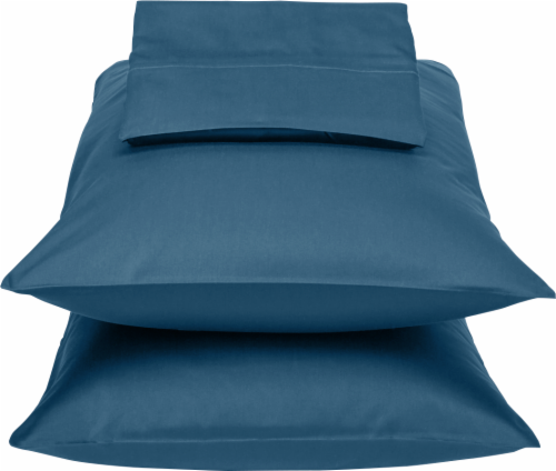 HD Designs 300 Thread Count Sheet Set - 4 Piece - Ensign Blue Perspective: front