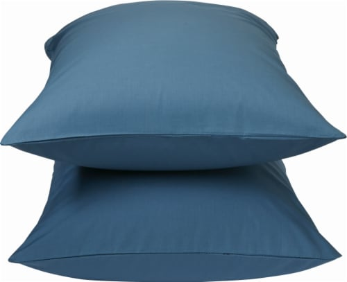 HD Designs Pillowcase - 300 Thread Count - 2 Pack - Ensign Blue Perspective: front