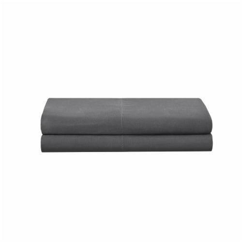 Modavari Home Fashions Pillow Case Set - Dark Grey Perspective: front