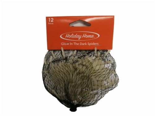 Holiday Home™ Glow in the Dark Spiders Decor Perspective: front