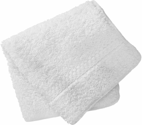 Everyday Living Washcloth - White Perspective: front