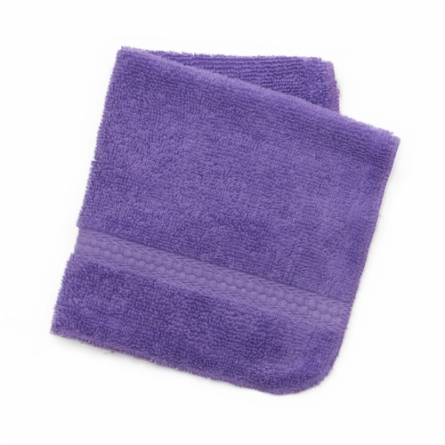 Everyday Living Wash Cloth - Purple Perspective: front
