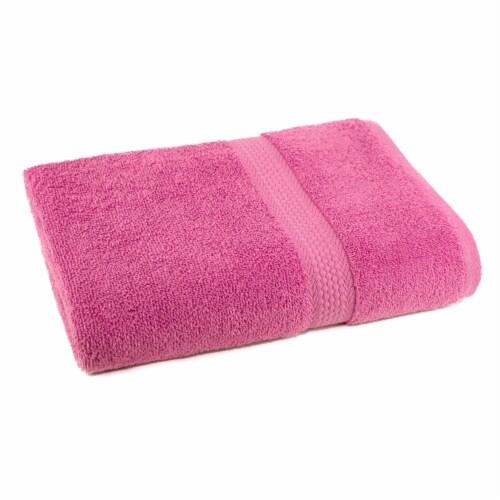 Everyday Living Bath Towel - Azalea Pink Perspective: front