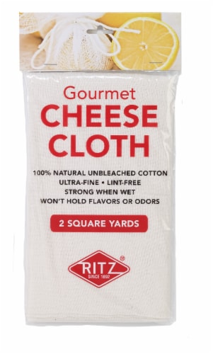Dash of That Premium Ultra Fine Cheese Cloth - Natural Perspective: front