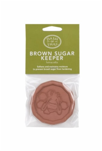 Dash of That™ Bee Brown Sugar Keeper - Terracotta Perspective: front